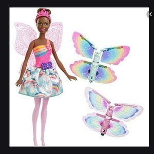 BARBIE Dreamtopia Flying Wings Fairy Doll NEW I